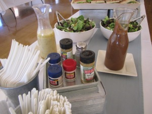 REDMOND RealSalt® Nature's First Sea Salt™  at the head of the table! www.RealSalt.com