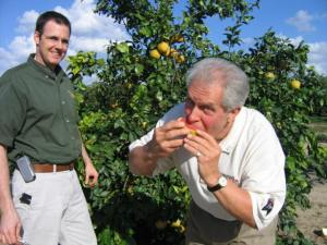 Life's DELISH in Uncle Matt's ORGANIC Grove! Dennis Weaver, Founder, Change Your Food - Change Your Life!