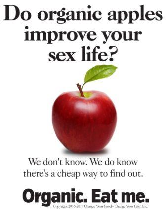 1a or organic do organic apples improve your sex life 12-29-17 1-10-18cw