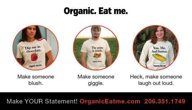 1a Organic Eat me BC BACK